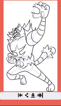 Learn How to Draw All Pokemon Sun Moon screenshot 7