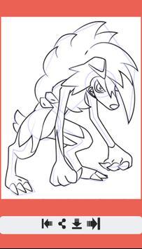 Learn How to Draw All Pokemon Sun Moon screenshot 9