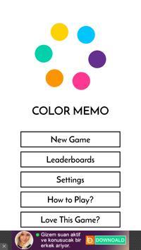 Color Memo: Simon Says 2 poster