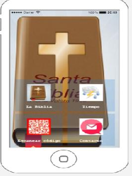 La Santa Biblia poster