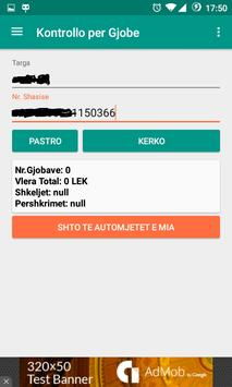 Gjoba Online apk screenshot