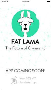 Fat Lama poster