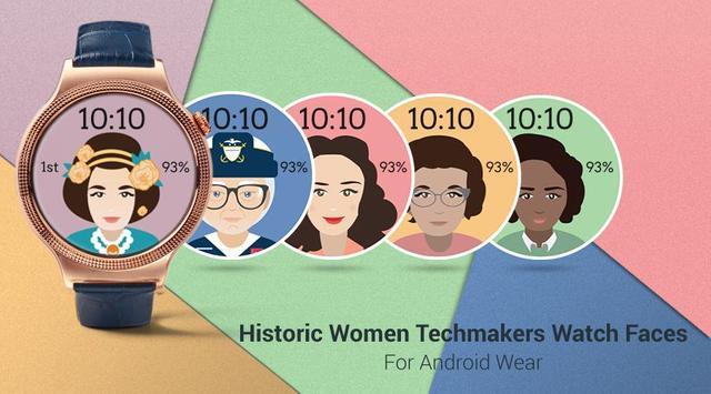 Historic Women Watch Faces poster