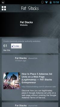 Fat Stacks Entrepreneur apk screenshot