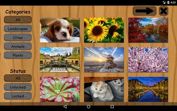 Puzzle: Landscapes, Pets & Animals, Flowers & More screenshot 15