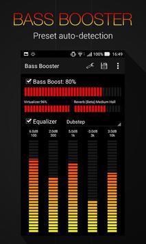 Equalizer Sound Bass Booster apk screenshot