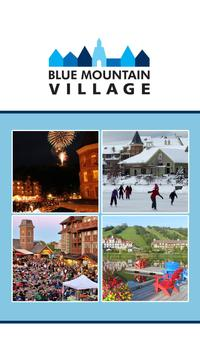 Blue Mountain Village Events poster