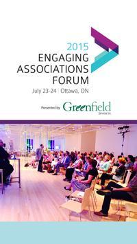 Engaging Associations Forum poster