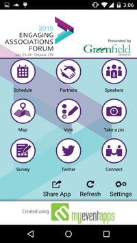 Engaging Associations Forum screenshot 1