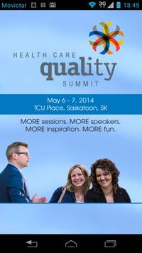 Health Care Quality Summit poster