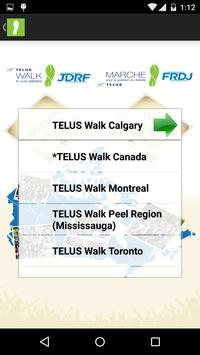 JDRF – TELUS Walk screenshot 1