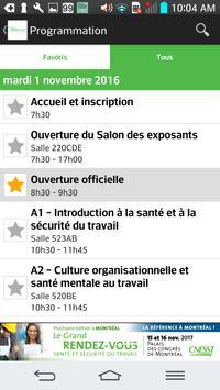 Grand Rendez-vous SST a Montreal screenshot 2