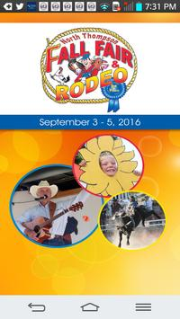 North Thompson Fall Fair-Rodeo poster