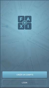 FAXI - les meilleurs taxis poster