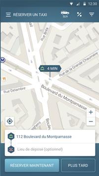 FAXI - les meilleurs taxis screenshot 1