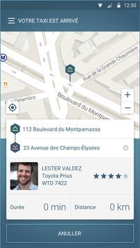FAXI - les meilleurs taxis screenshot 2