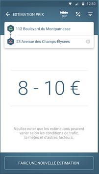 FAXI - les meilleurs taxis screenshot 3
