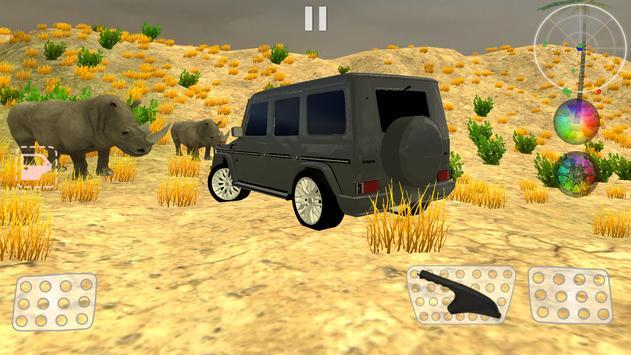 Safari Hunting - Gelandewagen poster