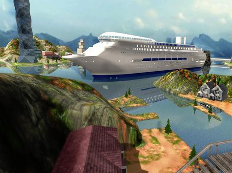 Tourist Transport Ship Game - Cruise Ship Driving screenshot 5