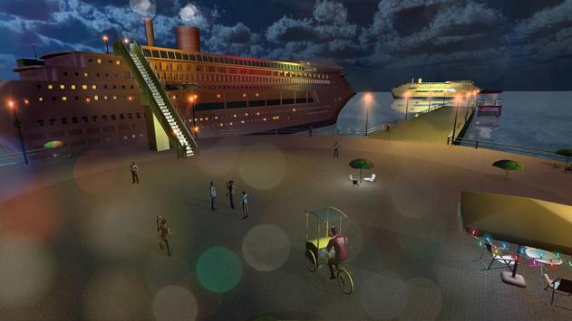 Tourist Transport Ship Game - Cruise Ship Driving screenshot 8
