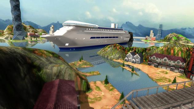 Tourist Transport Ship Game - Cruise Ship Driving screenshot 9