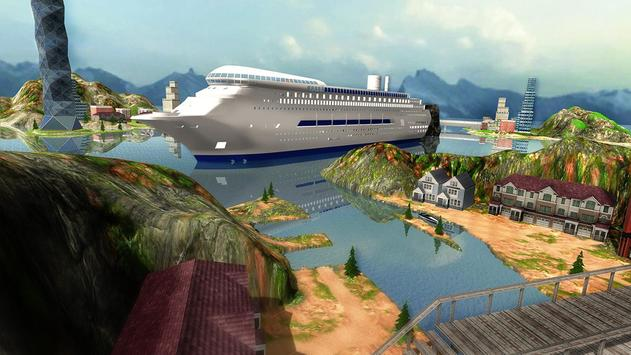Tourist Transport Ship Game - Cruise Ship Driving poster