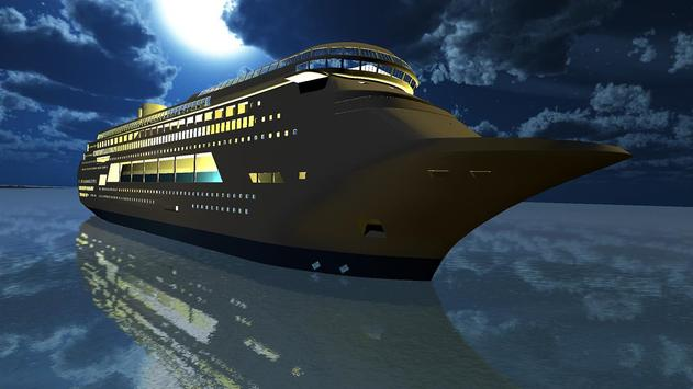 Tourist Transport Ship Game - Cruise Ship Driving screenshot 3
