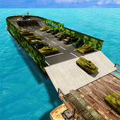 US Army Cruise Ship Tank Transport Helicopter Game icon