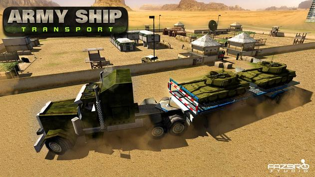 US Army Cruise Ship Tank Transport Helicopter Game screenshot 1