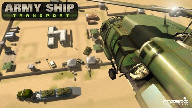 US Army Cruise Ship Tank Transport Helicopter Game screenshot 2