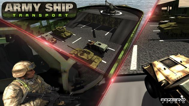 US Army Cruise Ship Tank Transport Helicopter Game screenshot 5