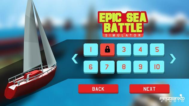 Epic Sea Battle Simulator screenshot 3