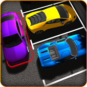 Parking Lot Jam - Car Parking Simulator 2017 icon