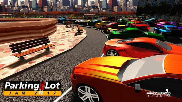 Parking Lot Jam - Car Parking Simulator 2017 apk screenshot