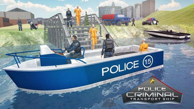 Police Criminal Transport Ship – Jail Prisoner Sim poster