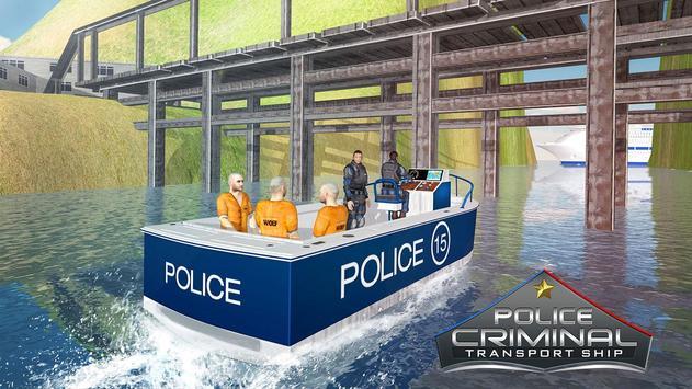 Police Criminal Transport Ship – Jail Prisoner Sim apk screenshot