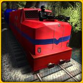 Police Prison Transport Train Prison Transport Sim icon