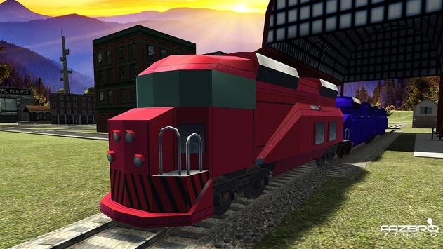 Police Prison Transport Train Prison Transport Sim apk screenshot