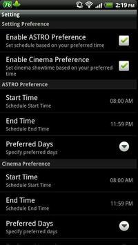 Movie Reminder - Malaysia apk screenshot