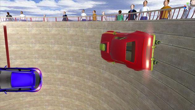 Death Well Car Stunt Rider screenshot 1