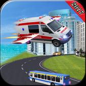 Fly Rescue Ambulance Simulator icon