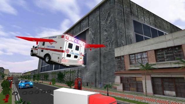 Fly Rescue Ambulance Simulator apk screenshot