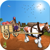 Horse Cart Riding Free icon