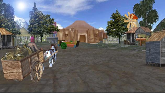 Horse Cart Riding Free apk screenshot