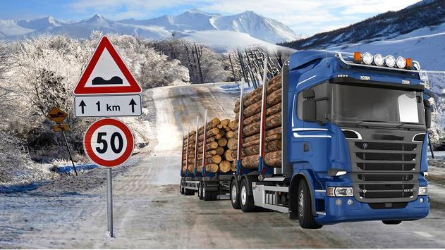 Lorry Truck Cargo Transport poster