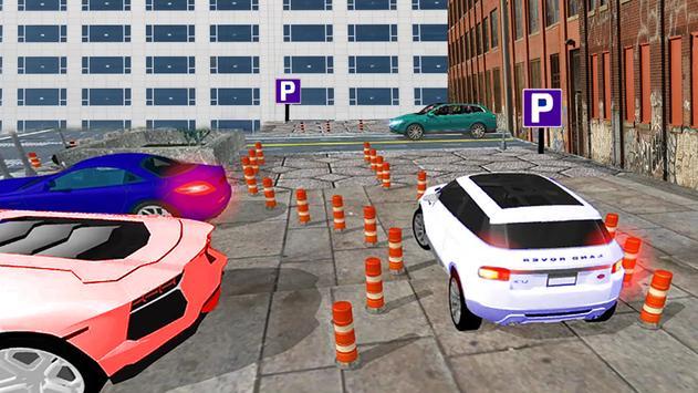 Racing Prado Parking Free apk screenshot