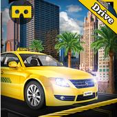 VR Modern Taxi Car Drive Sim icon