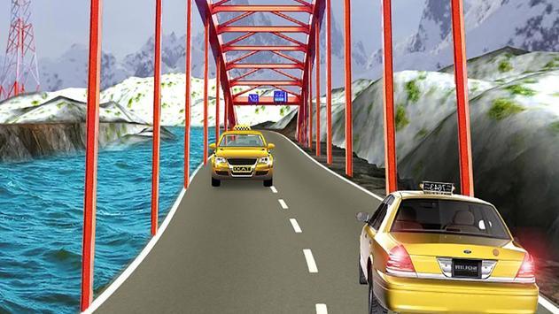 VR Modern Taxi Car Drive Sim screenshot 1