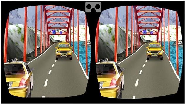 VR Modern Taxi Car Drive Sim screenshot 2
