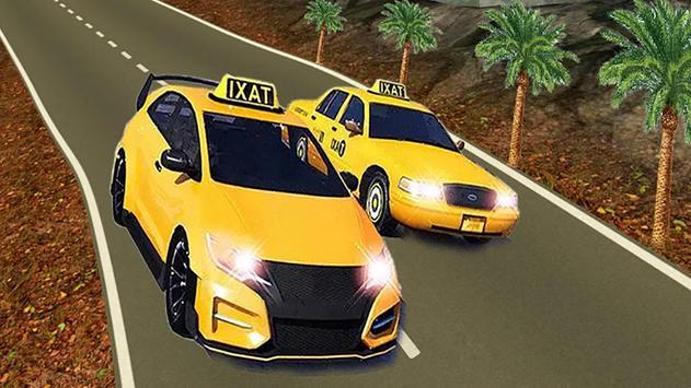 VR Modern Taxi Car Drive Sim screenshot 9